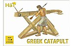 Greek Catapults -- Plastic Model Weapon Kit -- 1/72 Scale -- #8184