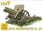 WW-I Austrian 10cm Gun -- Plastic Model Weapon Kit -- 1/72 Scale -- #8245
