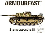 Stug III -- Plastic Model Military Vehicle -- 1/72 Scale -- #99018