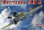 Easy Build Hurricane MKII -- Plastic Model Airplane Kit -- 1/72 Scale -- #80215