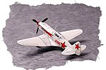 Easy Build Soviet MiG-3 -- Plastic Model Airplane Kit -- 1/72 Scale -- #80229
