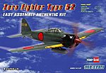 Easy Build Zero 52 -- Plastic Model Airplane Kit -- 1/72 Scale -- #80241