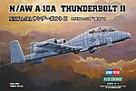 N/AW A-10A Thunderbolt II -- Plastic Model Airplane Kit -- 1/72 Scale -- #80267