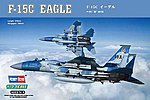 F-15C Eagle -- Plastic Model Airplane Kit -- 1/72 Scale -- #80270