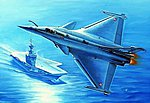Rafale M French Fighter -- Plastic Model Airplane Kit -- 1/48 Scale -- #80319