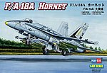 F/A-18A Hornet -- Plastic Model Airplane Kit -- 1/48 Scale -- #80320