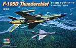 F-105D Thunderchief -- Plastic Model Airplane Kit -- 1/48 Scale -- #80332