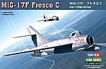 MiG-17F Fresco C -- Plastic Model Airplane Kit -- 1/48 Scale -- #80334