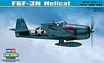 F6F-3N Hellcat -- Plastic Model Airplane Kit -- 1/48 Scale -- #80340