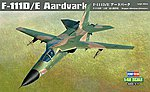 F-11D/E Aardvark -- Plastic Model Airplane Kit -- 1/48 Scale -- #80350
