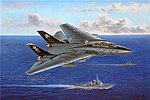 F-14B Tomcat -- Plastic Model Airplane Kit -- 1/48 Scale -- #80367