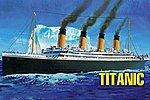 HMS Titanic -- Plastic Model Commercial Ship Kit -- 1/550 Scale -- #81305