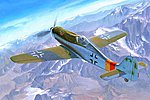 Focke Wulf FW190D-9 -- Plastic Model Airplane Kit -- 1/48 Scale -- #81716