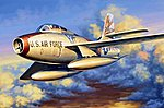 F-84F Thunderstreak -- Plastic Model Airplane Kit -- 1/48 Scale -- #81726