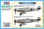 BF-109 F4 -- Plastic Model Airplane Kit -- 1/48 Scale -- #81749