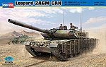 Leopard 2A6M Can Tank -- Plastic Model Military Vehicle Kit -- 1/35 Scale -- #82458