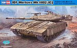 IDF Merkava MK.IIID (LIC) Tank -- Plastic Model Military Vehicle Kit -- 1/35 Scale -- #82476