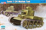 Soviet T-34 Medium Tank -- Plastic Model Military Vehicle Kit -- 1/35 Scale -- #82493