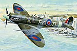 Spitfire MK V.B -- Plastic Model Airplane Kit -- 1/32 Scale -- #83205