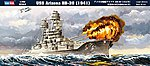 USS Arizona BB-39 -- Plastic Model Military Ship Kit -- 1/700 Scale -- #83401