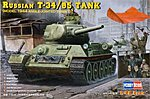 T-34/85 Russian 1944 Angle Turret -- Plastic Model Military Vehicle Kit -- 1/48 Scale -- #84809