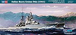 Italian Heavy Crusier Pola -- Plastic Model Military Ship Kit -- 1/350 Scale -- #86502