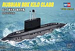 Kilo Class Russian Navy -- Plastic Model Military Ship Kit -- 1/700 Scale -- #87002