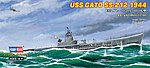 USS Gato SS-212 1944 -- Plastic Model Military Ship Kit -- 1/700 Scale -- #87013