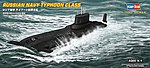 Russian Navy Typhoon Class -- Plastic Model Military Ship Kit -- 1/700 Scale -- #87019