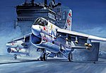 A-7A Corsair II -- Plastic Model Airplane Kit -- 1/72 Scale -- #87201