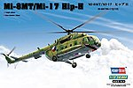 Mi-17 Hip H -- Plastic Model Helicopter Kit -- 1/72 Scale -- #87208