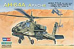 AH-64 Apache Attack -- Plastic Model Helicopter Kit -- 1/72 Scale -- #87218