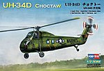UH-34D Choctaw American -- Plastic Model Helicopter Kit -- 1/72 Scale -- #87222