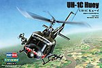 UH-1C Huey -- Plastic Model Helicopter Kit -- 1/72 Scale -- #87229