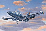 F9F-2 Panther -- Plastic Model Airplane Kit -- 1/72 Scale -- #87248