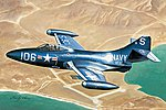 F9F-3 Panther -- Plastic Model Airplane Kit -- 1/72 Scale -- #87250