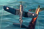 F4U-1 Corsair Late Version -- Plastic Model Airplane Kit -- 1/48 Scale -- #hy80382