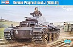 German PZ.KPFW.II AUSF. J VK1601 Tank -- Plastic Model Military Vehicle -- 1/35 Scale -- #hy83803