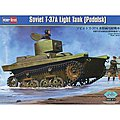 Soviet T-37A Tank (Podolsk) -- Plastic Model Military Vehicle -- 1/35 Scale -- #hy83819