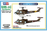 UH-1C Huey -- Plastic Model Helicopter Kit -- 1/48 Scale -- #hy85803