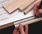 48  Adhesive Bench Ruler