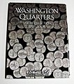 Vol.1, 1999 thru 2003 Washington State Quarters Coin Folder -- Coin Collecting Book and Sup -- #2580