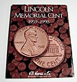 Lincoln Memorial Cent 1959-1998 Coin Folder -- Coin Collecting Book and Supply -- #2675