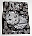 Jefferson Nickel 1962-1995 Coin Folder -- Coin Collecting Book and Supply -- #2680