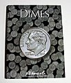 Dimes Plain Coin Folder -- Coin Collecting Book and Supply -- #2686