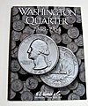 Washington Quarter 1948-1964 Coin Folder -- Coin Collecting Book and Supply -- #2689