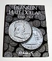 Franklin Half Dollar 1948-1963 Coin Folder -- Coin Collecting Book and Supply -- #2695