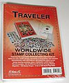 Traveler World Wide Stamp Collecting Kit -- Stamp Collecting Supply -- #l175