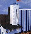 Midwestern United States Grain Elevator Kit -- HO Scale Model Building -- #806