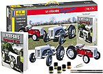 1/24 Ferguson TS20 & FF30 Farm Tractors w/Paint, Glue & Ferguson History Book-French (60th Anniversary Ltd Re-Edition)